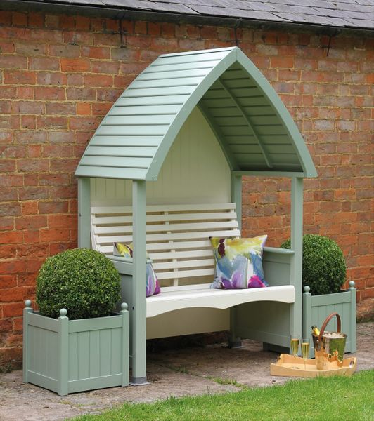 AFK Sage & Cream Cottage Arbour
