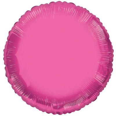 Circle Pink Balloon
