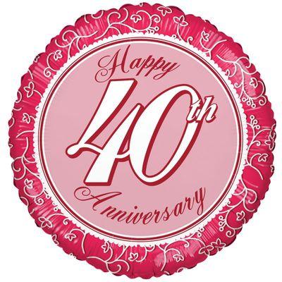 40th Anniversary Balloon
