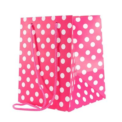 polka dot bag