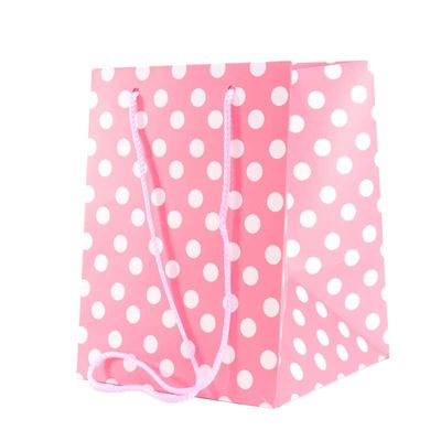 Baby Pink Polka Dot bag