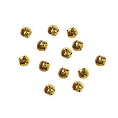 Gold Mini Bell Confetti