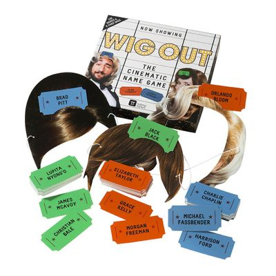 Now Showing - Wig Out Name Game