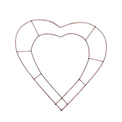Open Heart Wire Frame