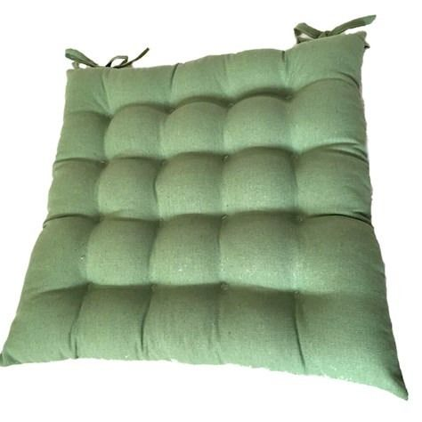 Sage Green Square Seat Cushion
