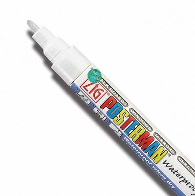 white chalk pen