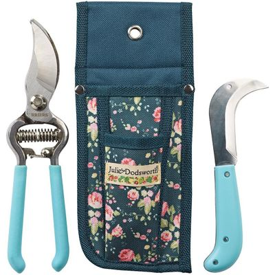 Julie Dodsworth Flower Girl Secateurs, Knife & Pouch Set