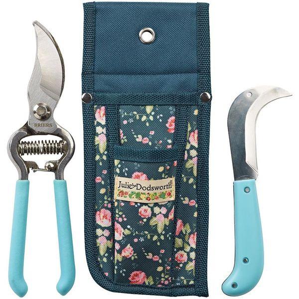 Julie Dodsworth Flower Girl Secateurs, Knife & Pouch Set