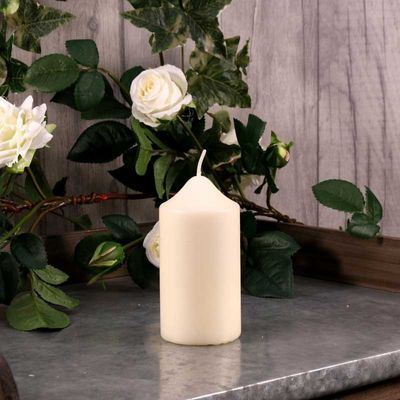60mm Ivory Chapel Candle
