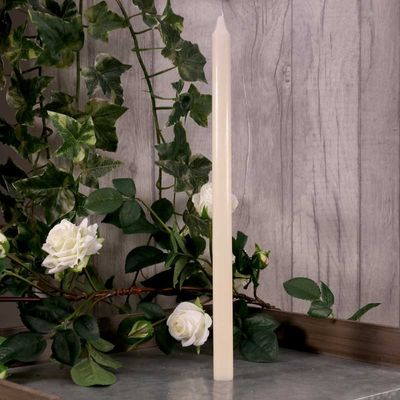 400mm Ivory Candle