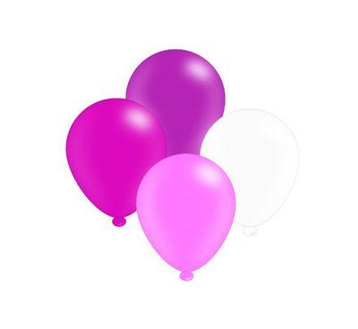 Mixed Pink Balloons