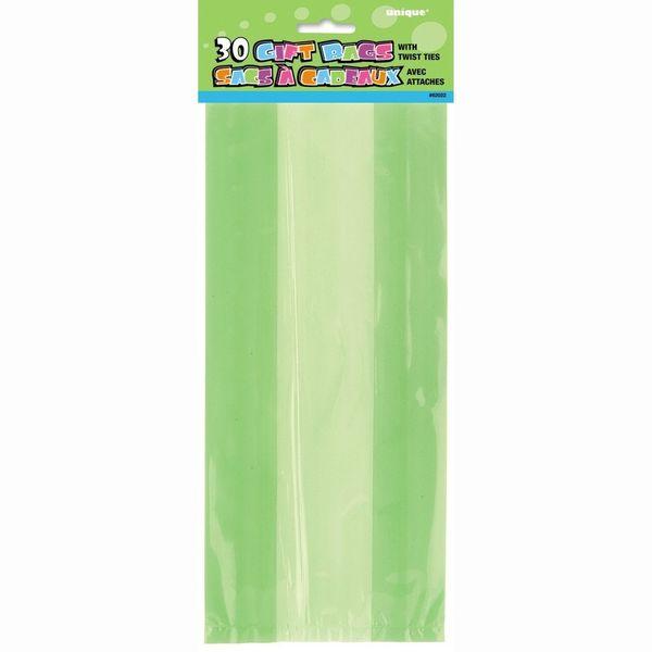 Lime Green Cello Bags