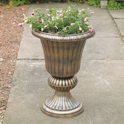 Golden Urn Planter