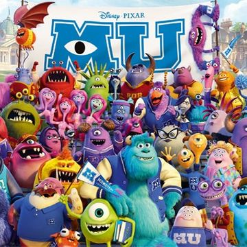 Monsters University Category