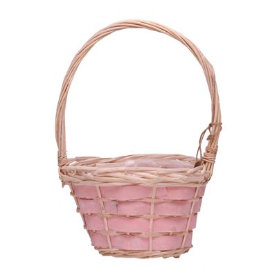 Pink Chip Basket