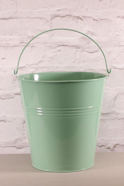 Pale Green Zinc Bucket