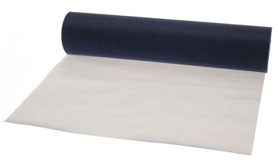Navy Organza Roll