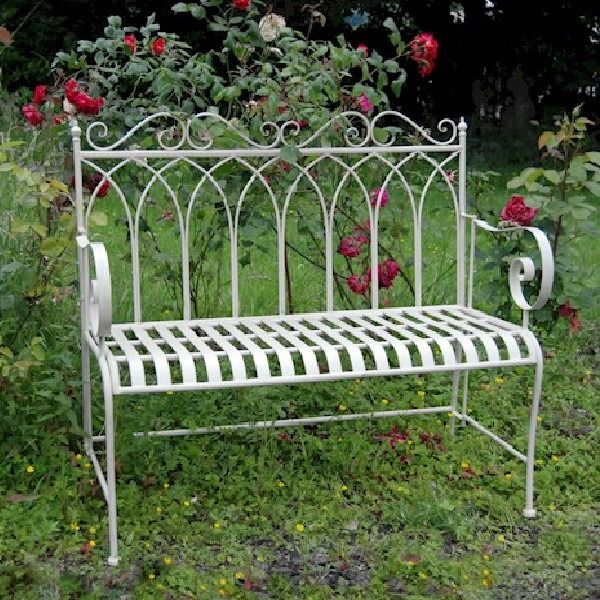 Kings Gothic Cream bench