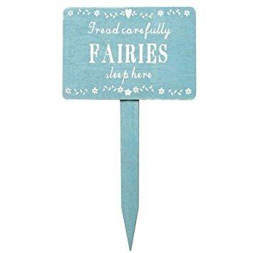 Fairies Sleep Here Sign