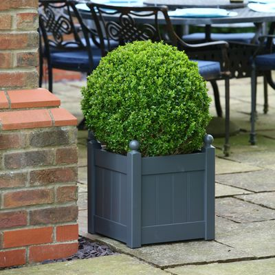 AFK Large Charcoal Classic Planter