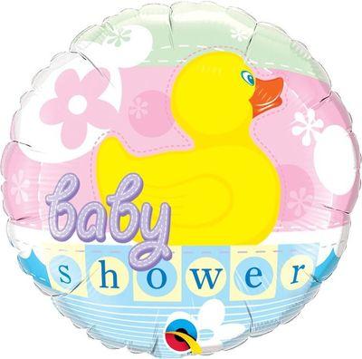 "Rubber Duckie 18"" Foil Baby Shower Balloon"