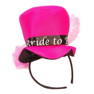 Mini Bride To Be Top Hat