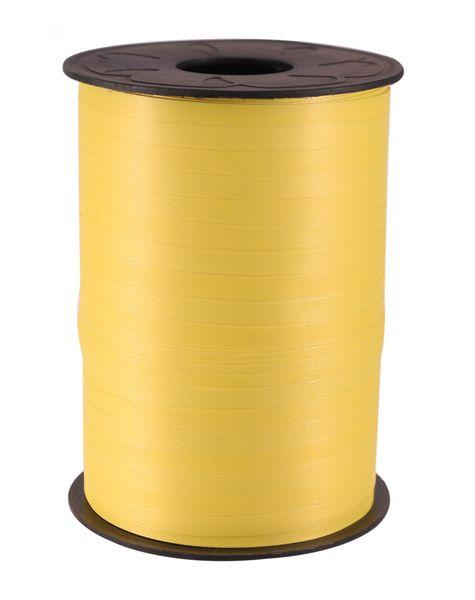 Matt Light Yellow Curling Ribbon
