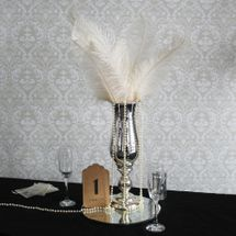 Cream Ostrich Feathers
