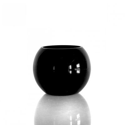 Black Glass Bubble Ball (10cm)