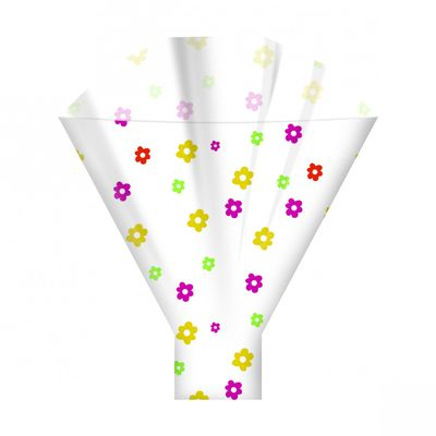 Multi Colour Florette Sleeves 44cm