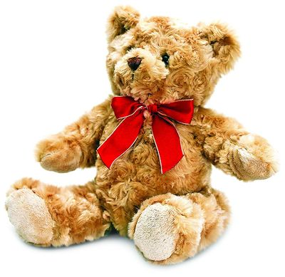 Keel Toys 20 cm Traditional Bear with Ribbon