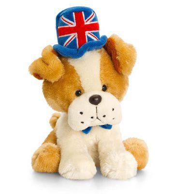 14cm Bud Union Jack Bulldog