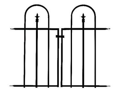 Triple Arch Gate (Black)