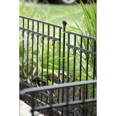 Park Lane Fence Section (Black)