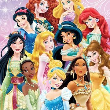 Disney Princess Tile