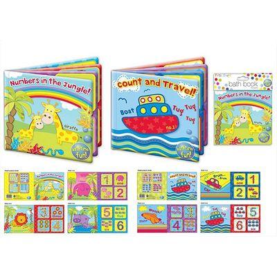 Fabulous baby bath book from bathtime fun