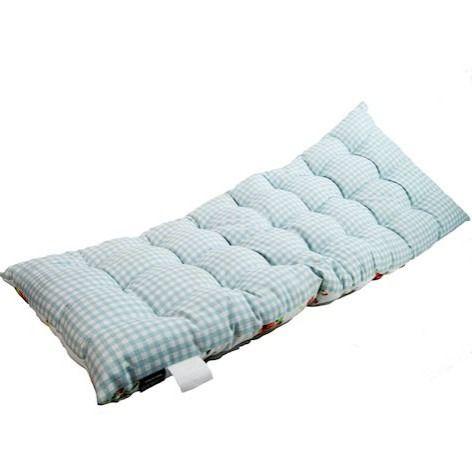 White English Rose Bench Cushion (2 Seater)