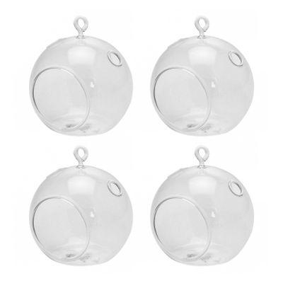 Hanging Bubble Tealight 8cm (4 pk)