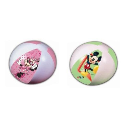 Disney beach ball in Mickey / Minnie designs