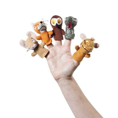 Gruffalos Child Finger Puppets