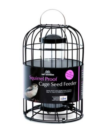 Tom Chambers Squirrel Proof Cage Seed Feeder SQ005