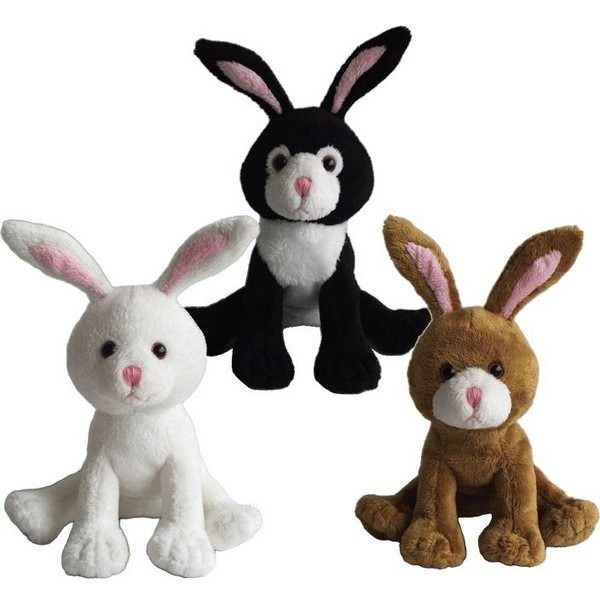 Cute little  Rabbits by Suki Gifts 5Inch