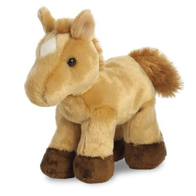 Mini Flopsie - Prancer Light Brown Horse 8inch