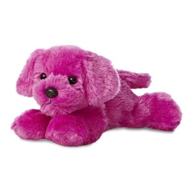 Mini Flopsie - Puppy Hot Pink 8inch