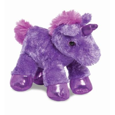 Mini Flopsie - Unicorn Purple 8inch
