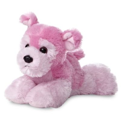 Mini Flopsie - Yorkie Pink 8inch