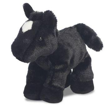 Mini Flopsie - Beau Black Horse 8inch