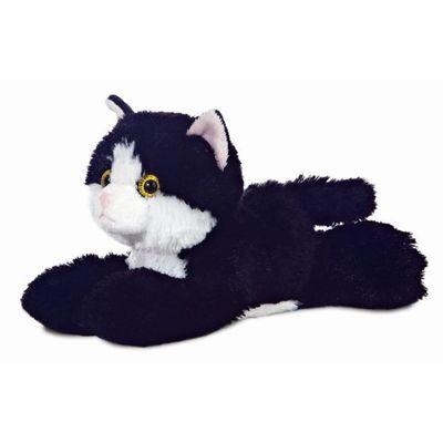Mini Flopsie - Maynard Black & White Cat 8inch