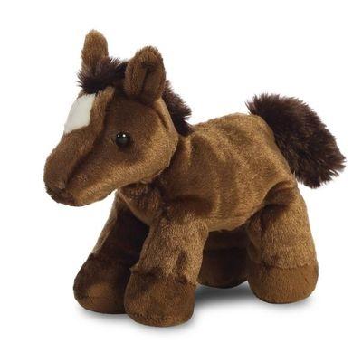 Mini Flopsie - Chestnut Horse 8inch