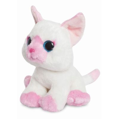 Candies Marshmallow Pink & White Cat 7inch